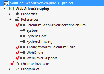 csharp-webscraping-solution