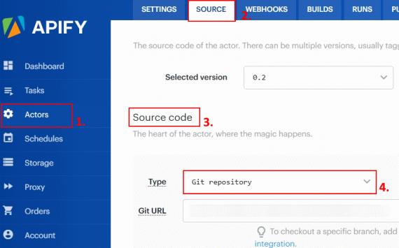 apify-create-actor-using-git-repo