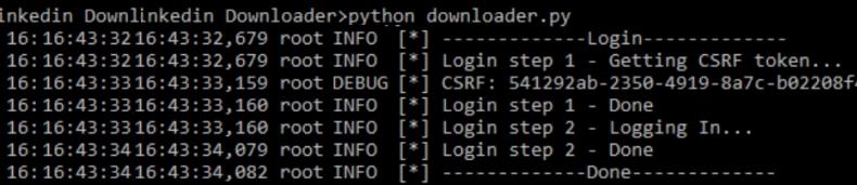 linkedin-scraper-login-process